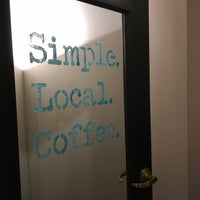 Photo taken at Simple Local Coffee by aaronpk on 10/5/2016