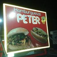 Photo taken at Hamburguesas Peter by José Manuel B. on 2/3/2014