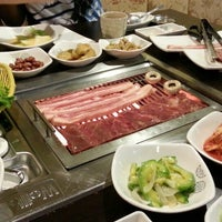 Photo taken at Sariwon Korean BBQ Restaurant 사리원 by Alan N. on 8/27/2013