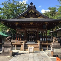 Photo taken at 護王神社 (Goô-jinja Shrine) by 244f on 10/13/2015