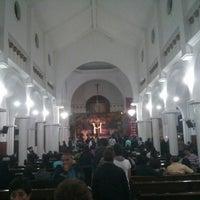 Photo taken at Parroquia de Nuestra Señora del Rosario by Jose M G. on 3/30/2013