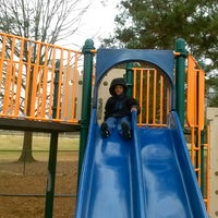 Photo taken at McCurry Park Sports Trail by MIchelle D. on 1/1/2014