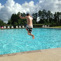 Photo taken at Spring Grove Pool by Gwendalyn W. on 7/4/2013