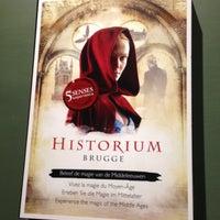 Photo taken at Historium Brugge by Bram L. on 11/22/2012