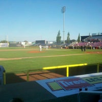 Photo taken at Volcanoes Stadium by Brian R. on 7/26/2013