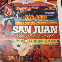 Photo taken at San Juan Restaurant by Anna P. on 7/6/2013