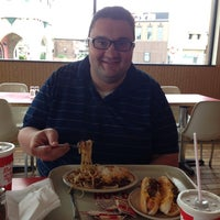 Photo taken at Rudy's Hot Dogs by Sarah M. on 7/23/2014