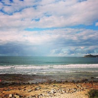 Photo taken at Mooloolaba Beach by Brittney J. on 7/14/2013