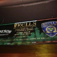 Photo taken at Kells Irish Restaurant & Pub by Anne B. on 7/18/2013
