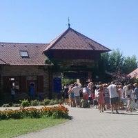 Photo taken at Lipóti termál és élményfürdő by Burány C. on 8/3/2013