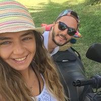 Photo taken at Pinar Otel beach club by Gizem T. on 9/18/2016