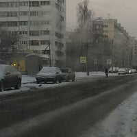 Photo taken at Остановка «ул. Брянцева / Тимуровская ул.» by Palpatine on 1/22/2014