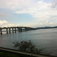 Photo taken at Malaysia - Singapore Border by d@us on 5/26/2014
