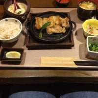 Photo taken at 京都宇治 とろろ家 伏見大手筋店 by ちえ on 10/10/2014