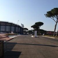 Photo taken at Foro Italico by Rolando G. on 7/1/2013