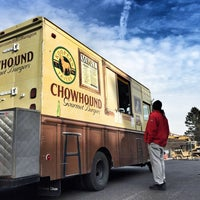 Photo taken at Kooper's Chowhound Burger Wagon by George L P. on 1/23/2015