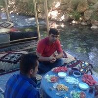 Photo taken at beyaz su ( akyüz dinlenme tesisi) by Bayram A. on 6/11/2014