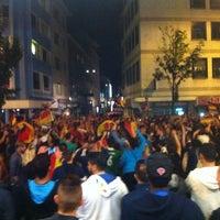 Photo taken at Bertha-von-Suttner-Platz by Dániel F. on 7/13/2014