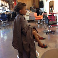 Photo taken at Salvador Calvano Hair by Ginger L. on 5/10/2014