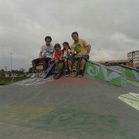 Photo taken at Pista de Skate do Morro da Liberdade by Robson Santos B. on 11/15/2013