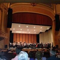 Photo taken at Saenger Theatre by Alan P. on 5/4/2014
