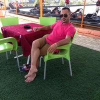 Photo taken at Kadriye Beach Park by Mustafa S. on 7/14/2013