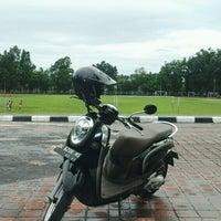 Photo taken at Lapangan Kapten Mudita Bangli by I Komang P. on 2/3/2017