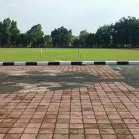 Photo taken at Lapangan Kapten Mudita Bangli by I Komang P. on 2/26/2017