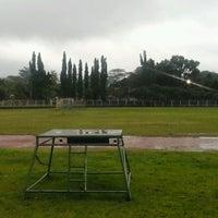 Photo taken at Lapangan Kapten Mudita Bangli by I Komang P. on 2/9/2017