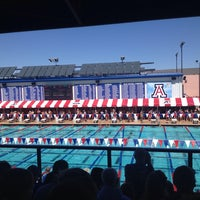 Photo taken at Hillenbrand Aquatic Center by Guy C. on 10/5/2013