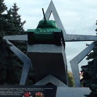 Photo taken at Памятник Танкистам by Sergio M. on 9/26/2013