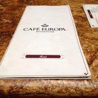 Photo taken at Café Europa by Francisco J. on 10/30/2013