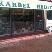 Photo taken at Karbel Hediyelik by Hasan Ç. on 8/16/2013