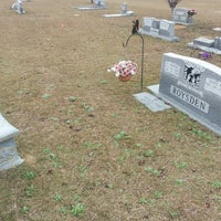 Photo taken at Tifton Memorial Gardens Cemetery by Wendy M. on 12/27/2013