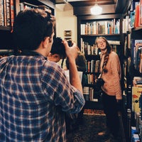 Photo taken at Yeoman's in the Fork Bookstore by Jay K. on 10/20/2014