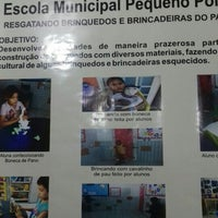Photo taken at Escola Municipal pequeno polegar by Wellington A. on 5/11/2016