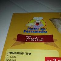 Photo taken at Pastel do Fernando by Guilherme M. on 7/5/2014