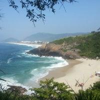 Photo taken at Praia do Sossego by Claudia M. on 12/30/2012