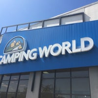 Photo taken at Camping World by Mark S. on 4/11/2015