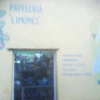 Photo taken at papeleria limones by Jorge L. on 10/10/2013