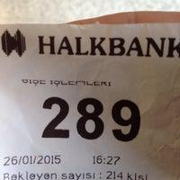 Photo taken at Halkbank by kubilay k. on 1/26/2015