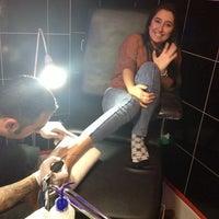 Photo taken at Tattoo Art by Murat Bilek by Ece Yıldırım on 10/19/2013