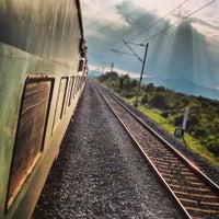 Photo taken at Tirupati Railway Station by Kakarla A. on 10/30/2013