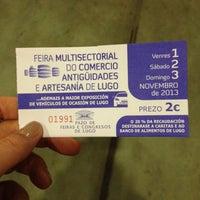 Foto tirada no(a) Pazo de Feiras e Exposicións de Lugo por Los lugares de Lenny em 11/1/2013