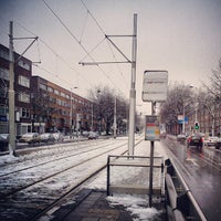 Photo taken at Tramhalte Schieweg by Starry L. on 12/7/2012