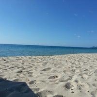 Photo taken at Porto Pirastu by Francesco on 7/13/2014