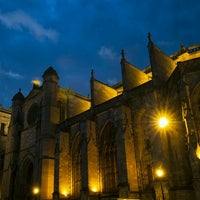 Photo taken at Cathédrale Sainte Marie by Sebastian H. on 9/25/2016