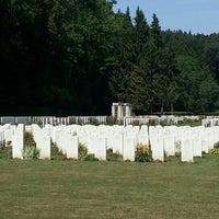 Photo taken at Durnbach War Cemetary by Sebastian H. on 8/17/2015