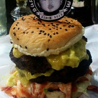 Photo taken at Burger Bakar Adam by Aida F. on 6/27/2013