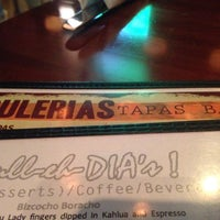Photo taken at Bulerias Tapas Bar by Joel E. on 5/18/2014